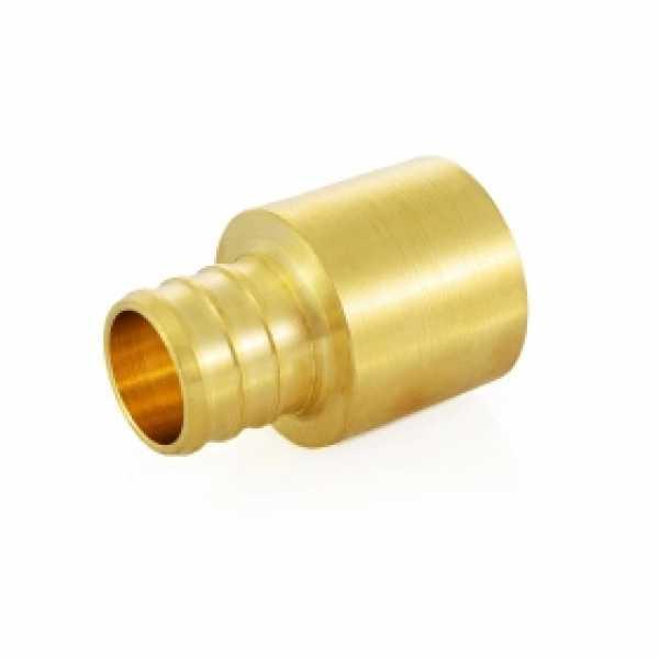 """3/4"""" PEX x 3/4"""" Copper Pipe Adapter (Lead-Free)"""
