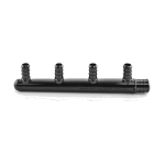 "Everhot PSF6004 4-Port Plastic PEX Manifold, 3/4"" x 1/2"" PEX, Closed Trunk, Plastic Manifold, No Lead Content"