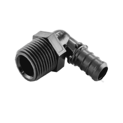 "1/2"" PEX x 1/2"" Male Threaded Poly Alloy Elbow"