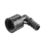 "1/2"" PEX x 1/2"" Female Threaded Swivel Poly Alloy Elbow"