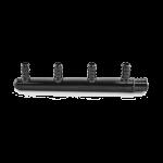 "Everhot PSF6004 4-Port Plastic PEX Manifold, 3/4"" x 1/2"" PEX, Closed Trunk, Plastic Manifold, No Lead Content"