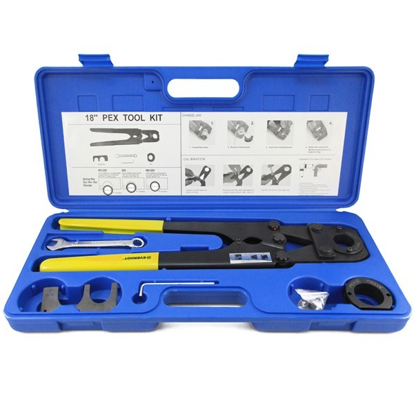 """PEX Crimp Tool Kit for sizes 1"""" and 1-1/4"""""""