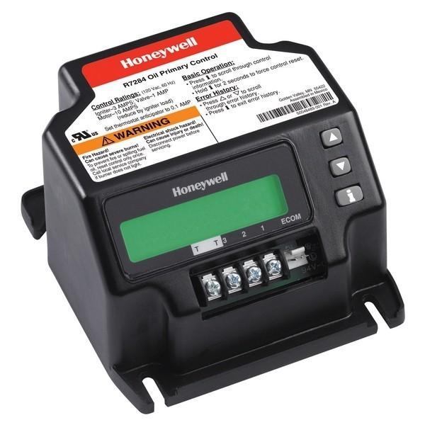 Honeywell R7284U1004 15, 30 or 45 sec. Universal Digital Oil Control w/LCD Display