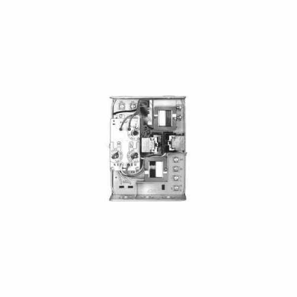Honeywell R8182D1079 Aquastat, 130F-240F Hi., 110F-220F Lo, w/ Heat Conductor and Vert. Case, Horizontal Mount