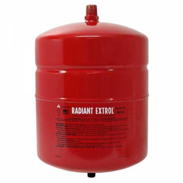 Radiant Extrol RX-15 Expansion Tank (2.0 Gal Volume)