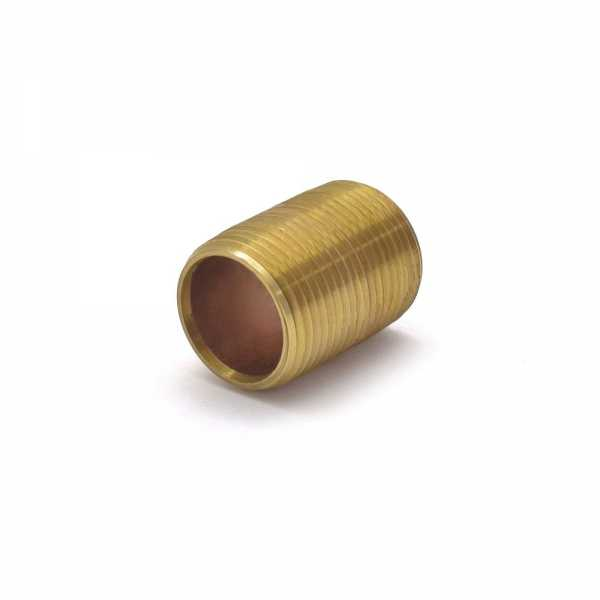 "Everhot RB-034XCL 3/4"" x Close Brass Pipe Nipple"
