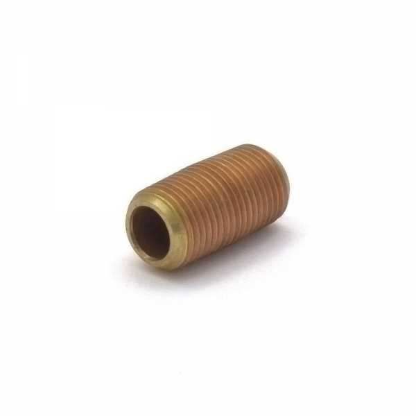 "Everhot RB-018XCL 1/8"" x Close Brass Pipe Nipple"