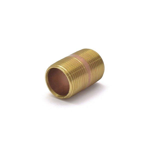 "Everhot RB-034X112 3/4"" x 1-1/2"" Brass Pipe Nipple"