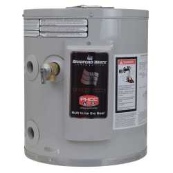 6 Gal, Compact/Utility Electric Water Heater, 120V, 6-Yr Wrty