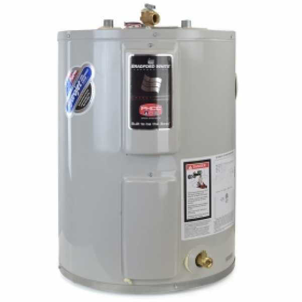 19 Gal, Lowboy Electric Water Heater, 6-Yr Wrty