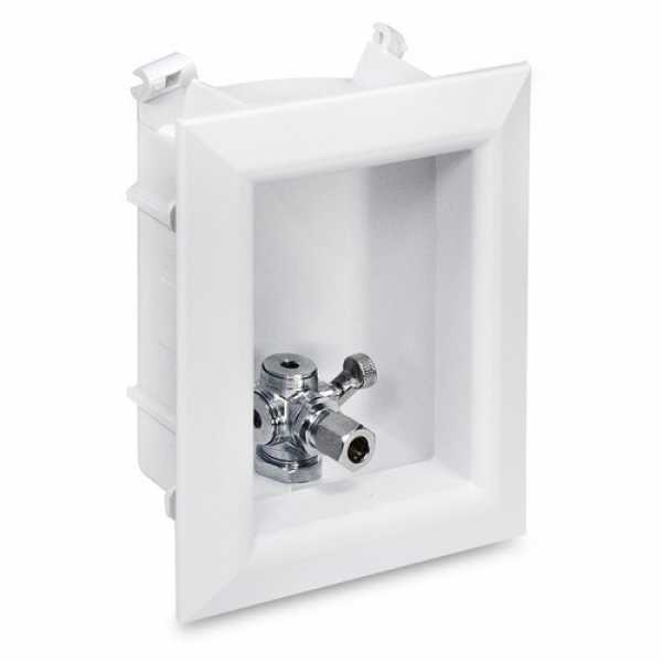 "Sioux Chief 696-G1001MF Ox Box Toilet/Dishwasher Outlet Box Standard Pack - 1/2"" PEX Crimp Connection (Lead Free)"