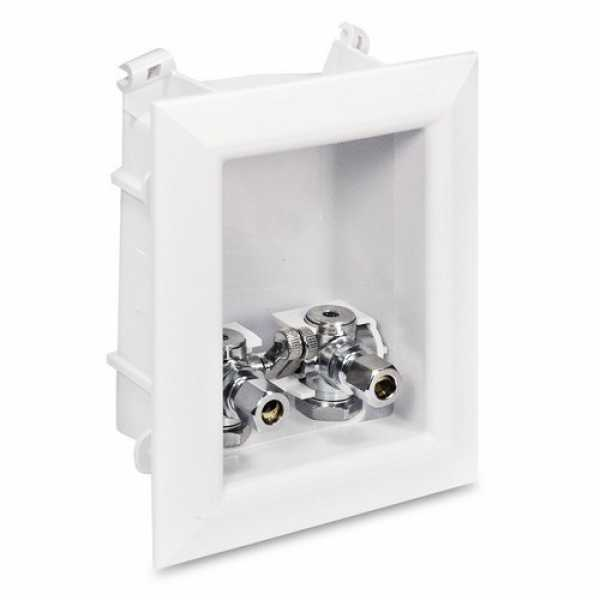 "Sioux Chief 696-G2001XF Ox Box Lavatory Outlet Box Standard Pack - 1/2"" PEX Crimp Connection (Lead Free)"
