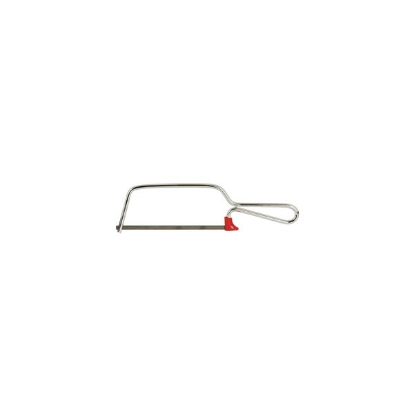 "Plated Mini-Hacksaw w/ 6"" Blade"