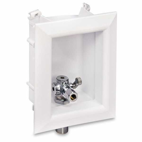 "Sioux Chief 696-G2001MF Ox Box Lavatory Outlet Box Standard Pack - 1/2"" Female Sweat (Lead Free)"