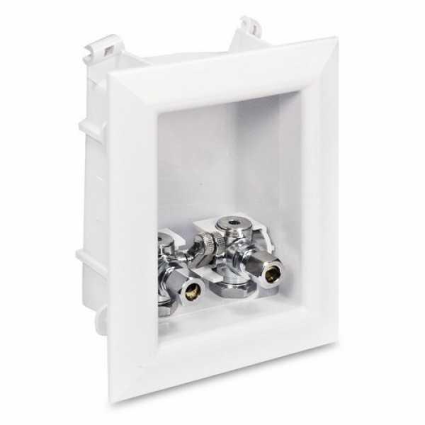 "Ox Box Lavatory Outlet Box, 1/2"" PEX (Lead-Free)"