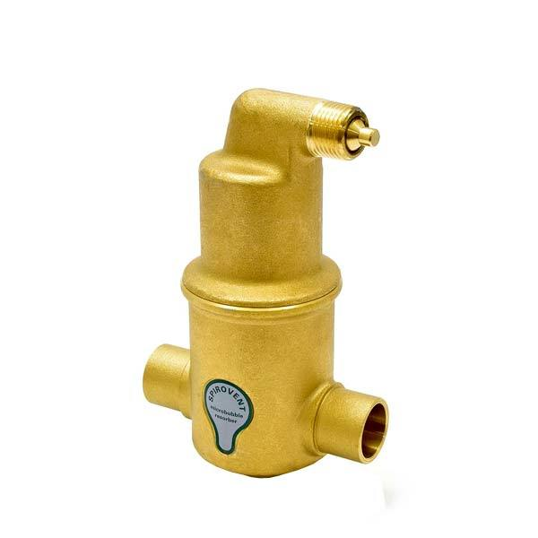 "Spirovent Junior (VJS075) Air Eliminator, 3/4"" Sweat"
