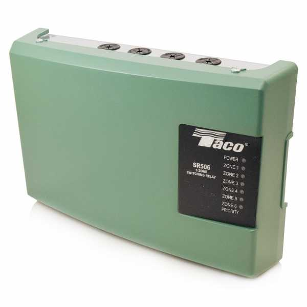 Taco 6-Zone Switching Relay with Priority, SR506-4