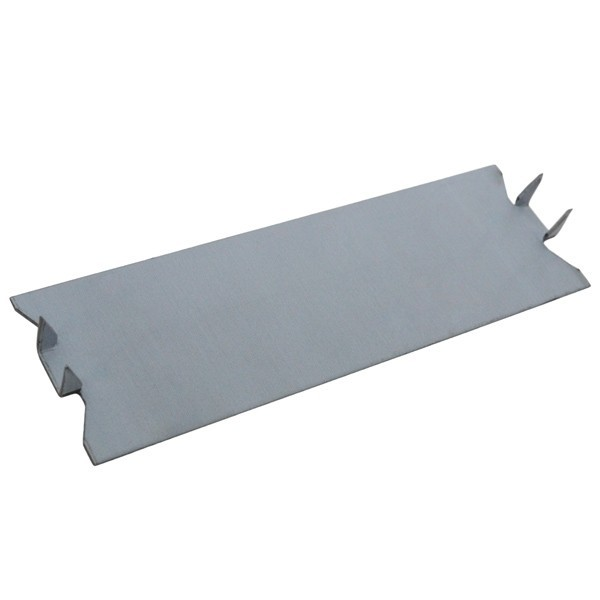 "Sioux Chief 530-5-100 1.5"" x 5"" Stud Guard Steel Plate Protectors, 18 Gauge (100/box)"