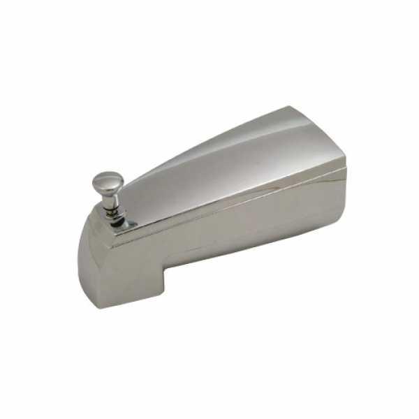 "5-5/8 Delta Chrome Diverter Tub Spout (for 1/2"" Iron Pipe)"""