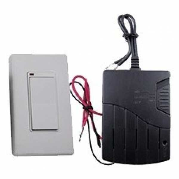 Tjernlund SWS Switch-It Wireless Wall Switch up to 80ft, 3A max