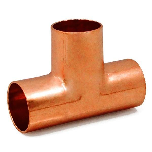 "Everhot T-500 1"" Copper Tee Fitting"