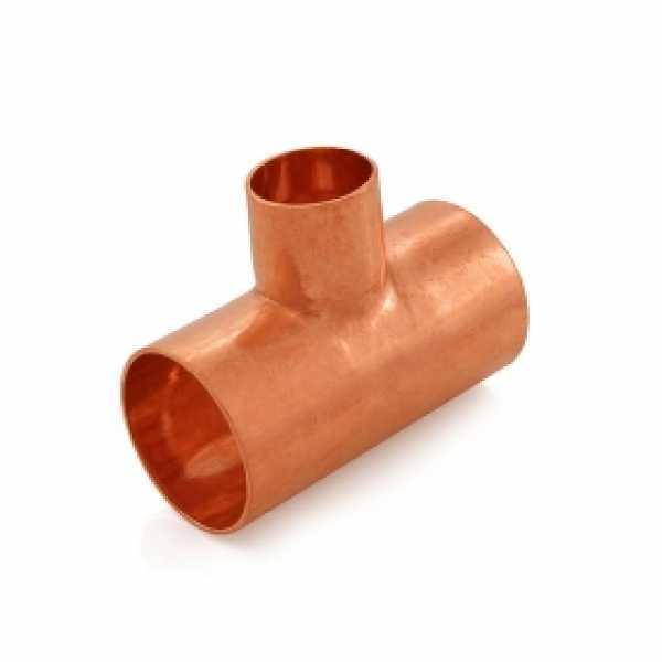 "1-1/4"" x 1-1/4"" x 3/4"" Copper Tee"