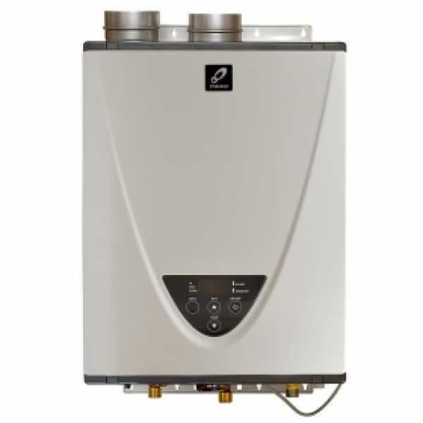 Indoor Tankless Water Heater, Natural Gas, 180K BTU
