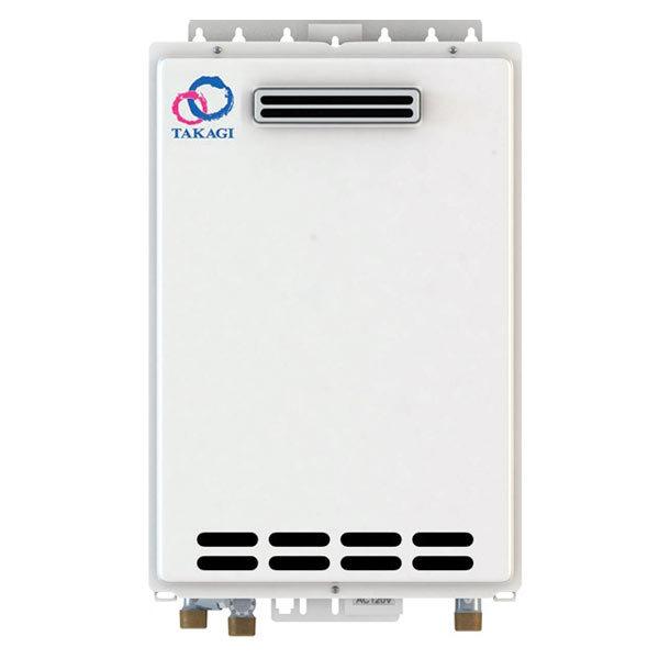Outdoor Takagi T-KJr2-OS-NG Tankless Water Heater, Natural Gas, 140K BTU