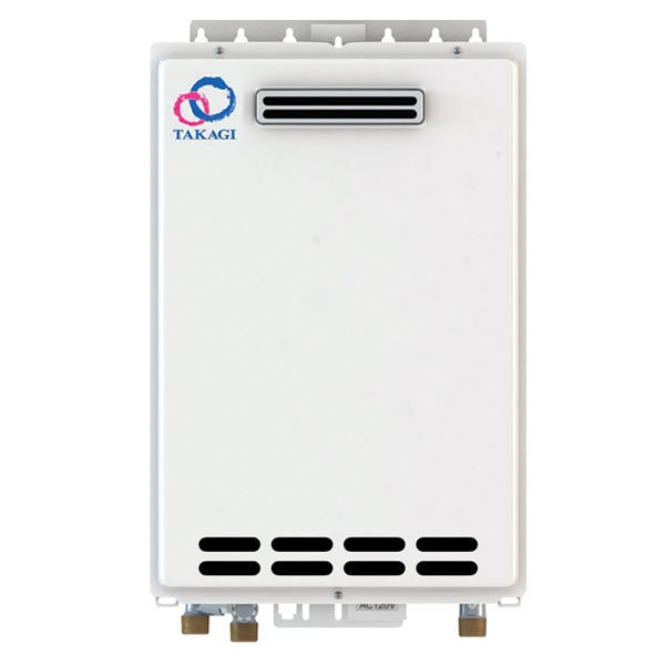 Outdoor Takagi T-K4-OS-NG Tankless Water Heater, Natural Gas, 190K BTU