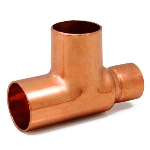 "3/4"" x 1/2"" x 3/4"" Copper Tee"