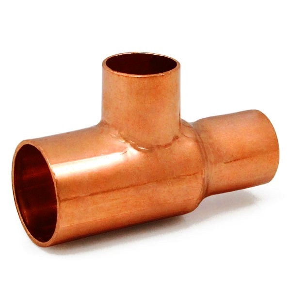 "1"" x 3/4"" x 3/4"" Copper Tee"