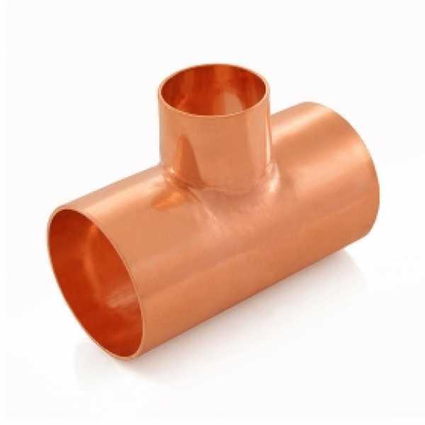 "2"" x 2"" x 1-1/4"" Copper Tee"