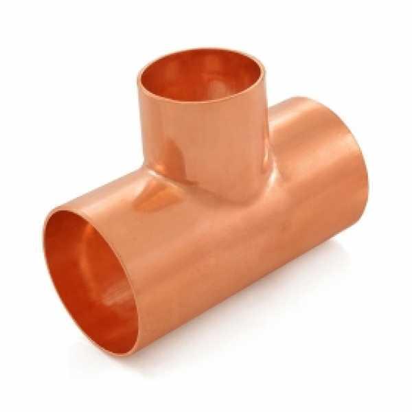 "2"" x 2"" x 1-1/2"" Copper Tee"