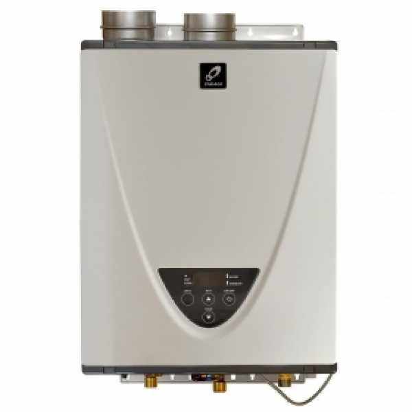 Indoor Tankless Water Heater, Natural Gas, 180K BTU