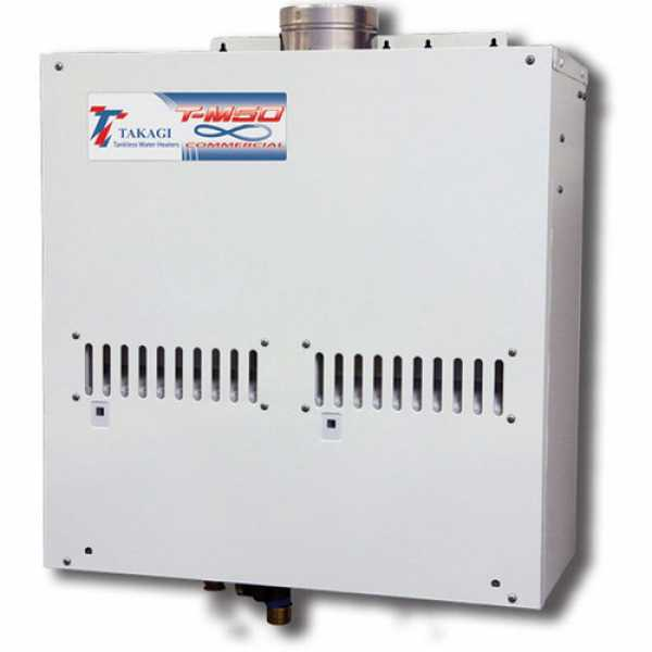 Tankless Water Heater, Propane, 380K BTU