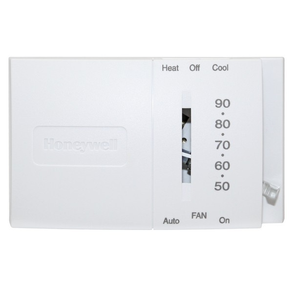 Honeywell T8034N1007 T8034 Series Mercury-Free, Non Programmable Single Stage Thermostat, Settable 45 F to 95 F