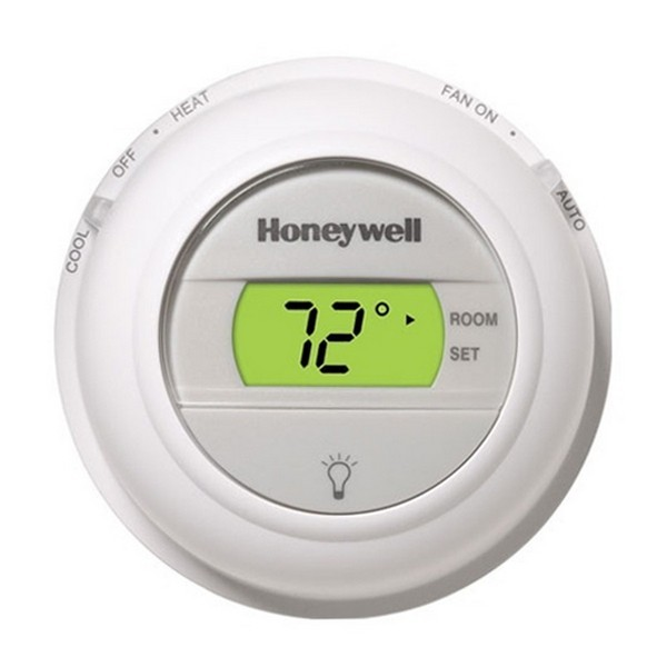 Honeywell T8775A1009 T8775 Series Non Programmable Heat Only Thermostat, Settable 40 F to 90 F