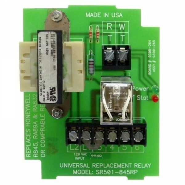 Taco Universal Replacement Relay, SR501-845RP