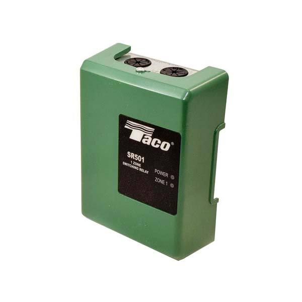 Taco Single Zone Switching Relay, SR501-4