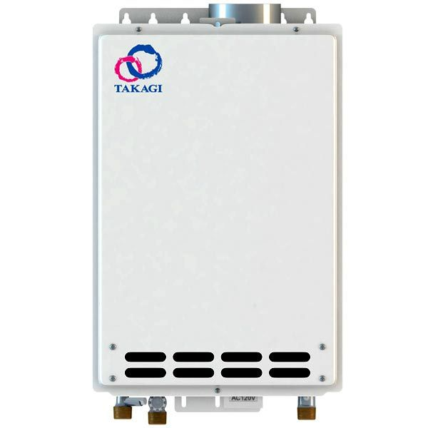 Indoor Takagi T-K4-IN-LP Tankless Water Heater, Propane, 190K BTU