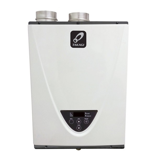 Indoor Takagi T-H3-DV-LP Tankless Water Heater, Propane, 199K BTU