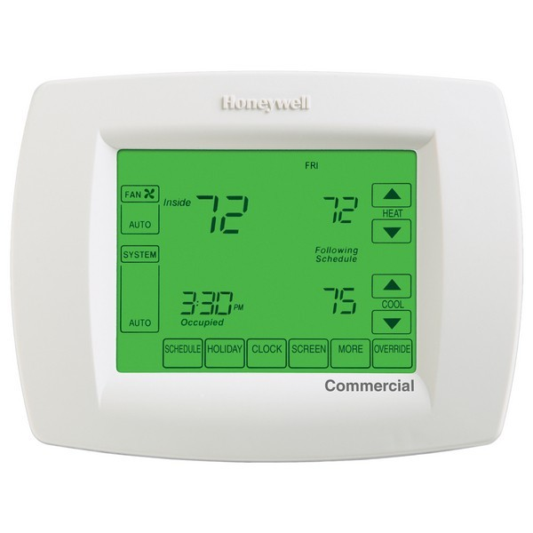 Honeywell TB8220U1003 VisionPRO 8000 Series Programmable MultiStage Thermostat, Settable Heat: 40 F to 90 F; Cool: 50 F to 99 F