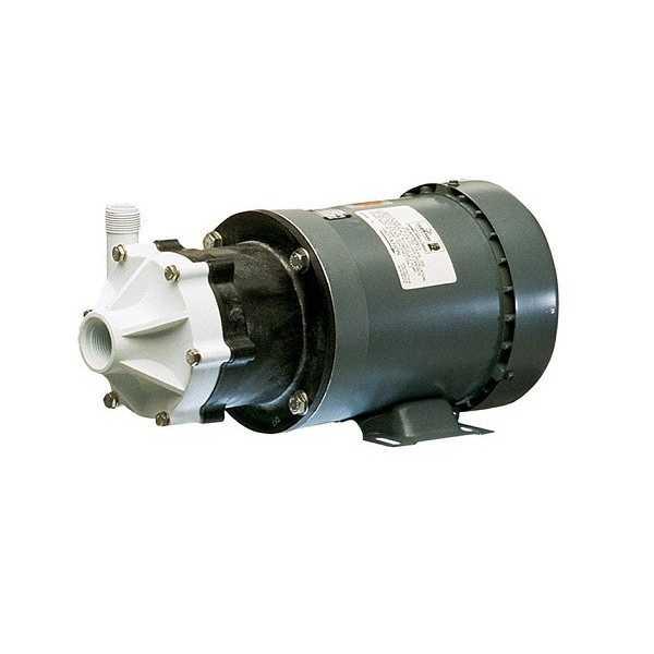 Little Giant 585504 1/3 Hp Semi Corrosive Handling Manual Magnetic Drive Pump, N/a Cord, 110v ~ 120v|208v ~ 240v