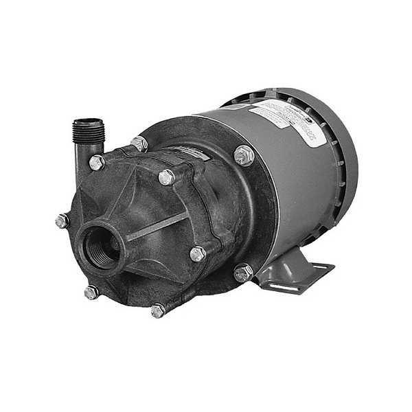 Little Giant 585604 1/3 Hp Highly Corrosive Handling Manual Magnetic Drive Pump, 110v ~ 120v|208v ~ 240v