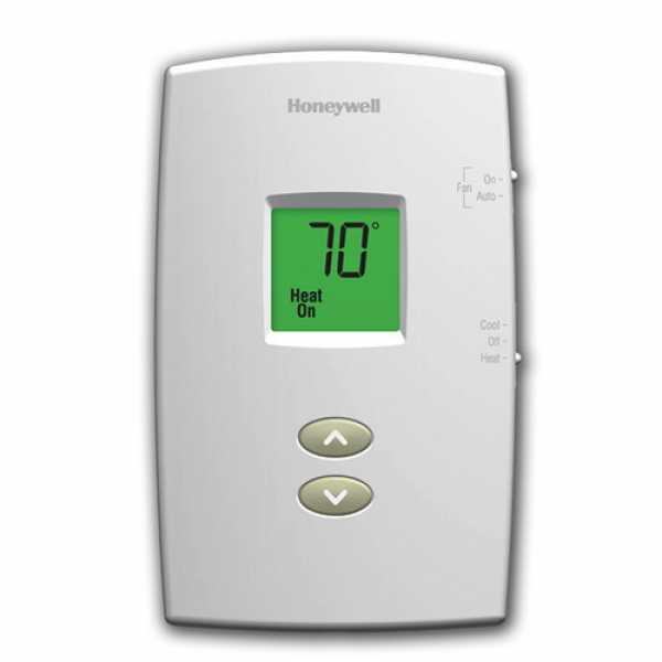 Honeywell TH1110D1000 PRO 1000 Series Non Programmable Single Stage Thermostat, Settable Heat: 40 F to 90 F;  Cool: 50 F to 99 F