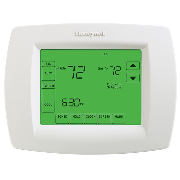 Honeywell TH8110U1003 VisionPRO 8000 Series 7 Day Programmable Single Stage Thermostat, Settable Heat: 40 F to 90 F; Cool: 50 F to 99 F