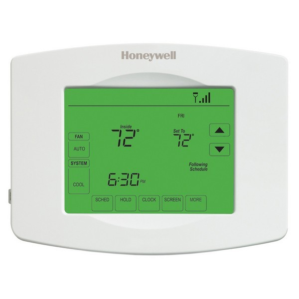Honeywell TH8320WF1029 VisionPRO Wi-Fi Series 7 Day Programmable MultiStage Thermostat, Settable Heat: 40 F to 90 F; Cool: 50 F to 99 F