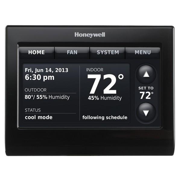 Prestige IAQ Series 7 Day Programmable MultiStage Thermostat THX9421R5021BB, Settable Heat: 40 F to 90 F; Cool 50 F to 99F