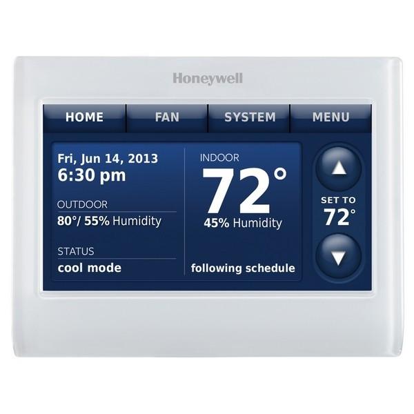 Prestige IAQ Series 7 Day Programmable MultiStage Thermostat THX9421R5021WW, Settable Heat: 40 F to 90 F; Cool 50 F to 99F