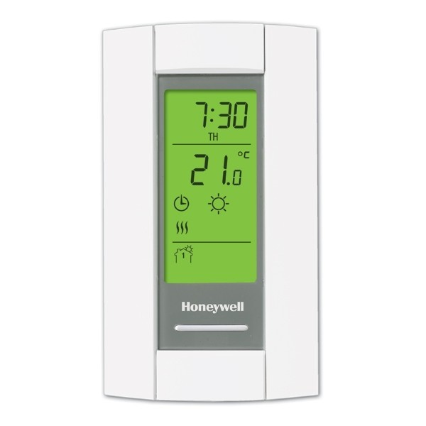 Honeywell TL8130A1005 TL8130 Series 7-Day Programmable Heat Only Thermostat, Settable 40 F to 86 F